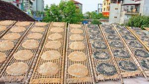 Đặc sản Bánh Tráng Chợ Lầu