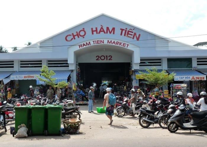 Chợ Hàm Tiến - 4 khu chợ nổi tiếng ở Phan Thiết